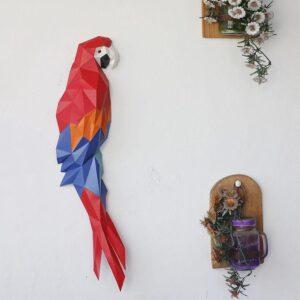 Papercraftworld Macaw