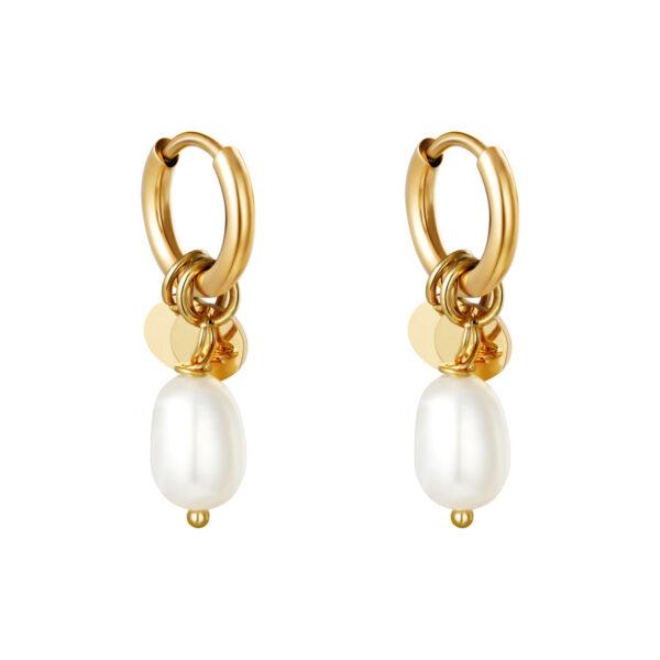 Oorbellen Pearl Drops