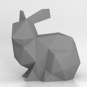 3D Papercraft Bunny