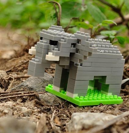 Nanoblocks Elephant