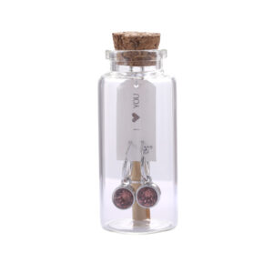 Message in a Bottle I love you (zilver)