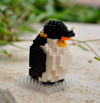 Nanoblocks Penguin