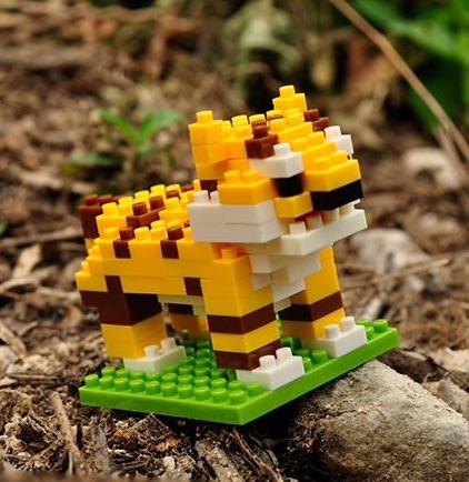 Nanoblocks Tiger