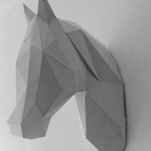 3D Papercraft Unicorn / Horse
