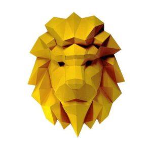 Papercraftworld Lion Head