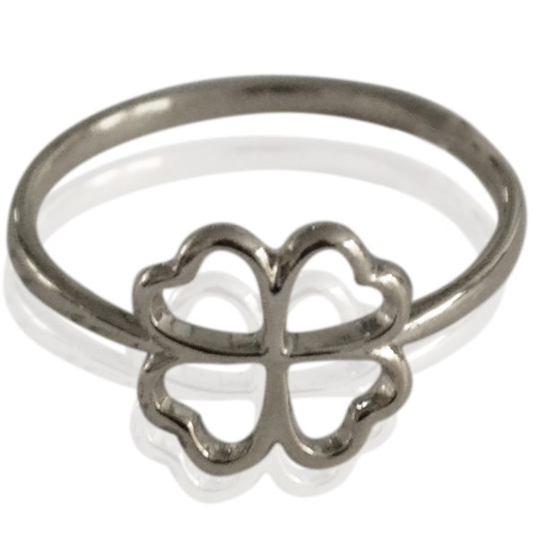 Ring Clover zilver